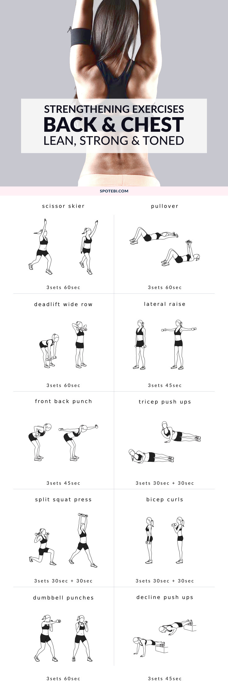 Try These Chest And Back Strengthening Exercises For Women To Help