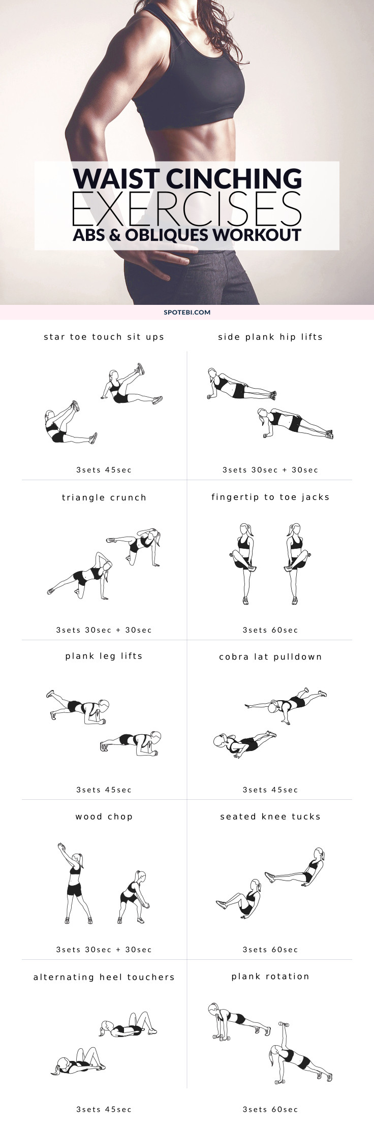 Work Your Abs And Obliques With These Core Exercises For Women A 30 Minute