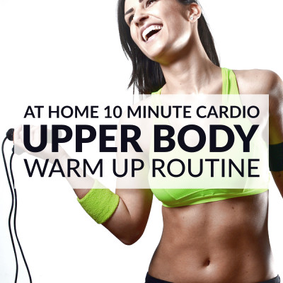 Prepare your back, chest, arms and shoulders for strength training with this 10 minute upper body warm up routine. Start the timer and enjoy your workout! https://www.spotebi.com/workout-routines/10-minute-upper-body-warm-up-routine-for-women/
