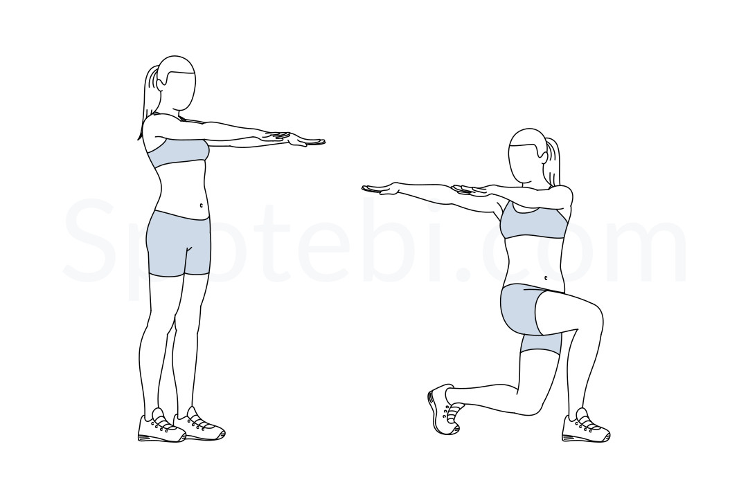 Lunge Twist | Illustrated Exercise Guide