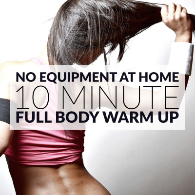 Complete this 10 minute warm up routine to prepare your entire body for a workout. Strengthen your heart and burn calories with these aerobic exercises. https://www.spotebi.com/workout-routines/10-minute-no-equipment-full-body-warm-up/