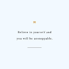 Believe In Yourself Fitness Motivation / @spotebi