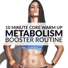 Bodyweight At Home Core Warm Up Routine / @spotebi