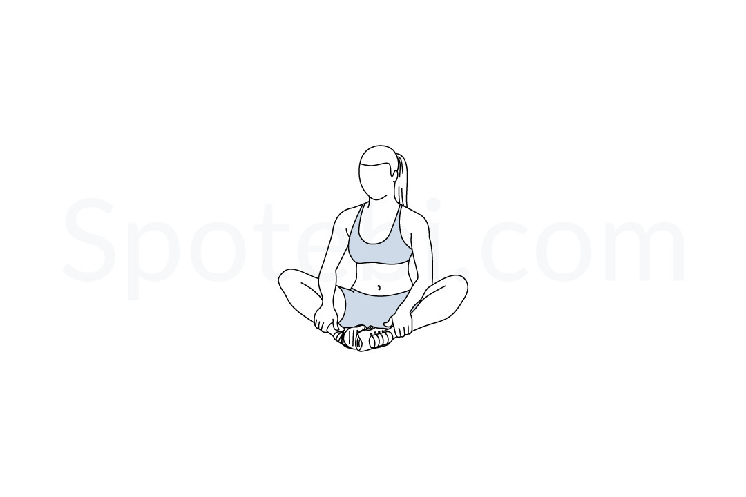 Butterfly stretch exercise guide with instructions, demonstration, calories burned and muscles worked. Learn proper form, discover all health benefits and choose a workout. https://www.spotebi.com/exercise-guide/butterfly-stretch/