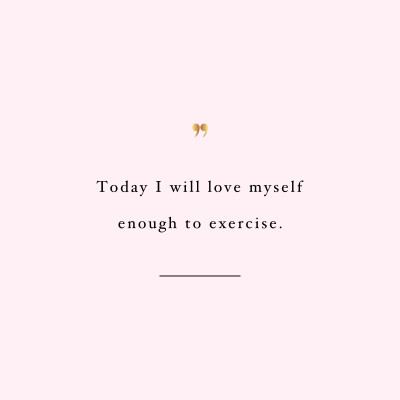 Love yourself! Browse our collection of motivational fitness quotes and get instant workout and exercise inspiration. Transform positive thoughts into positive actions and get fit, healthy and happy! https://www.spotebi.com/workout-motivation/exercise-inspiration-love-yourself/