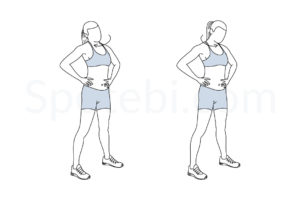 Neck rolls exercise guide with instructions, demonstration, calories burned and muscles worked. Learn proper form, discover all health benefits and choose a workout. https://www.spotebi.com/exercise-guide/neck-rolls/