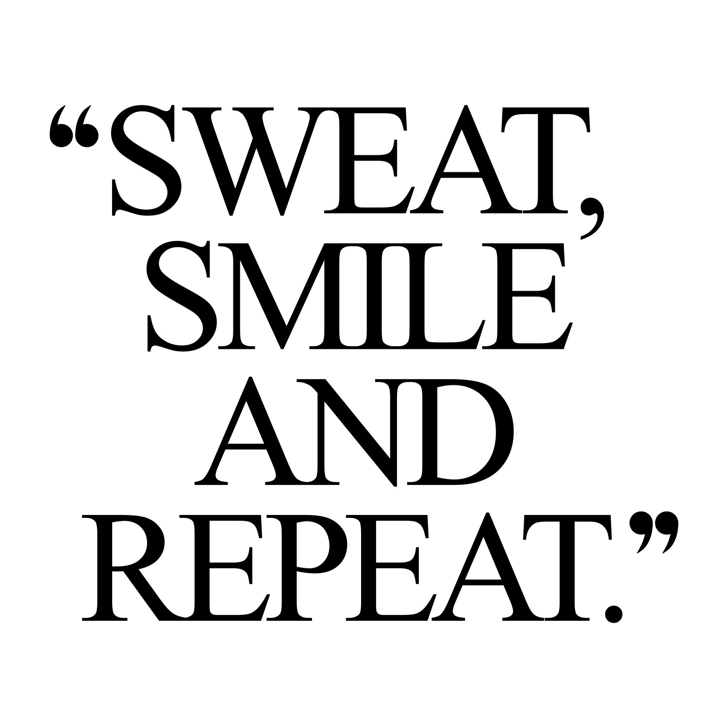 Quotes About Exercise Positive Attitude  Exercise Motivation Quote