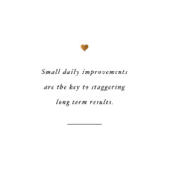 Small Improvements Fitness Inspiration / @spotebi