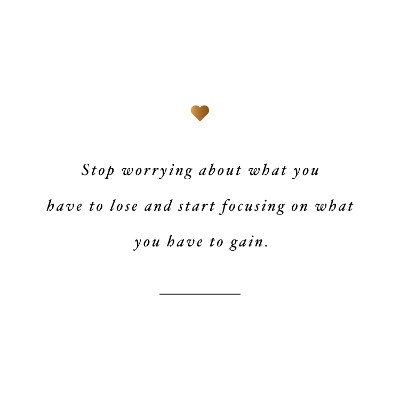 Stop worrying and focus! Browse our collection of inspirational fitness quotes and get instant exercise and weight loss motivation. Transform positive thoughts into positive actions and get fit, healthy and happy! https://www.spotebi.com/workout-motivation/weight-loss-motivation-stop-worrying-and-focus/