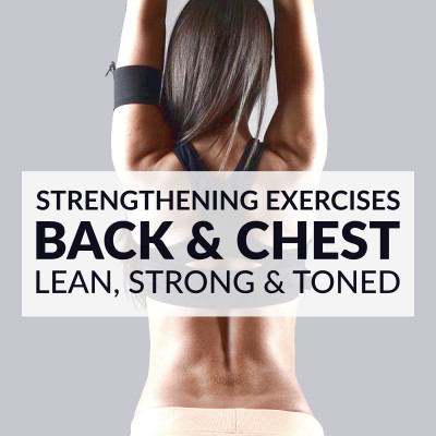Lift your breasts naturally! Try these chest and back strengthening exercises for women to help you tone, firm and lift your chest and improve your posture. https://www.spotebi.com/workout-routines/chest-back-strengthening-exercises-lean-strong-toned/