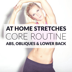 Core Static Stretching Exercises | Ab, Oblique And Lower Back Stretches / @spotebi