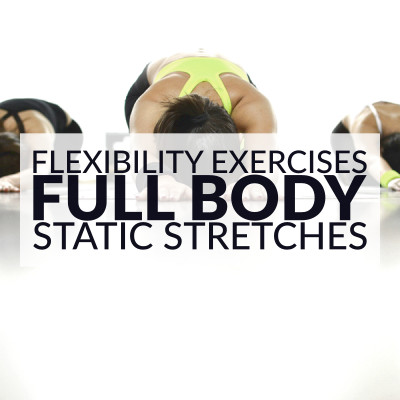 Stretch your full body with this set of flexibility exercises. A static stretching routine to improve joint range of motion and stretch muscles and tendons. https://www.spotebi.com/workout-routines/flexibility-exercises-full-body-static-stretches/