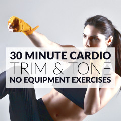 No Equipment Lower Body And Cardio Exercises / @spotebi