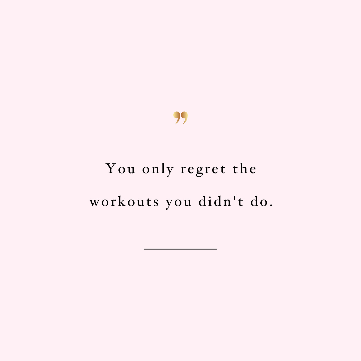 No regrets! Browse our collection of inspirational workout quotes and get instant fitness and weight loss motivation. Transform positive thoughts into positive actions and get fit, healthy and happy! https://www.spotebi.com/workout-motivation/inspirational-workout-quote-no-regrets/