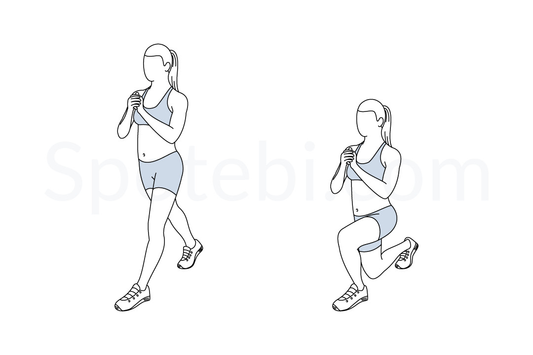 Split Squat | Illustrated Exercise Guide