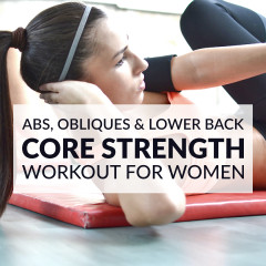 Challenge your abs, obliques and lower back with these core strengthening exercises. A thorough core workout routine designed to transform your midsection. https://www.spotebi.com/workout-routines/core-strengthening-exercises-abs-obliques-lower-back/