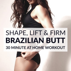 Shape, Lift And Firm | Brazilian Butt Workout For Women / @spotebi