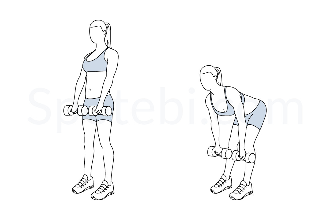 workout cartoon pictures