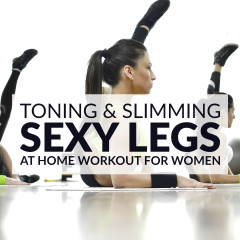 Get lean and strong with this sexy legs workout. 9 toning and slimming leg exercises to work your inner and outer thighs, hips, quads, hamstrings and calves. https://www.spotebi.com/workout-routines/sexy-legs-workout-women-toning-slimming/