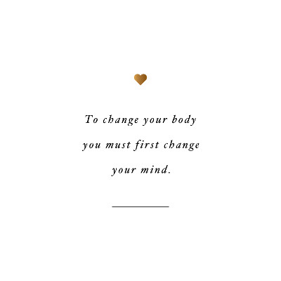 Change your mind! Browse our collection of inspirational exercise quotes and get instant fitness and training motivation. Transform positive thoughts into positive actions and get fit, healthy and happy! https://www.spotebi.com/workout-motivation/change-your-mind-weight-loss-quote/