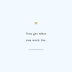 Work For It Exercise Inspiration Quote / @spotebi