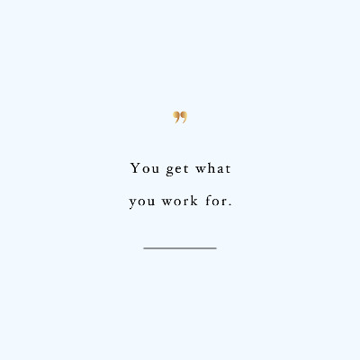 Work for it! Browse our collection of inspirational exercise quotes and get instant fitness and weight loss motivation. Transform positive thoughts into positive actions and get fit, healthy and happy! https://www.spotebi.com/workout-motivation/work-for-it-exercise-inspiration-quote/