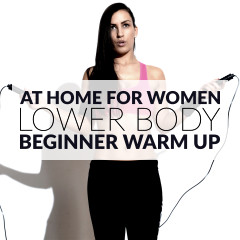 10 Minute Lower Body & Cardio Workout For Beginners / @spotebi
