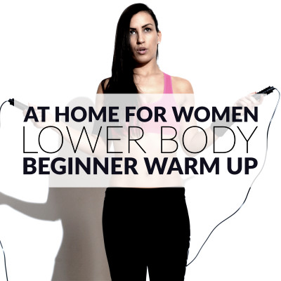 Start your lower body workout for beginners with a complete warm up routine, which includes exercises that move your body through all planes of motion and a few dynamic stretches. https://www.spotebi.com/workout-routines/10-minute-lower-body-cardio-workout-for-beginners/