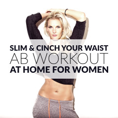 Beginner Ab Workout For Women / @spotebi