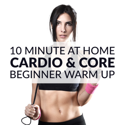 To maximize results and minimize the risk of injury, start your core workout with a 10 minute dynamic warm up. This beginner workout routine for women warms up your muscles and joints and gets them ready for maximum flexibility, which means you can perform each exercise with proper form. https://www.spotebi.com/workout-routines/cardio-core-beginner-workout-routine-for-women/