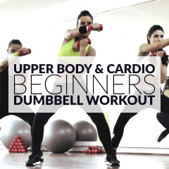 Upper Body & Cardio Beginners Workout / @spotebi