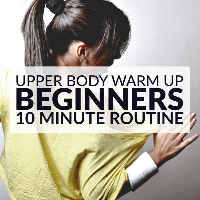 To properly prepare your muscles, tendons, ligaments and joints for the workout to follow you need to always include a warm up period at the beginning of your workout routine. The warm up also prepares your heart gradually for an increase in activity and reduces the chance of injuries. https://www.spotebi.com/workout-routines/upper-body-workout-routine-for-beginners/