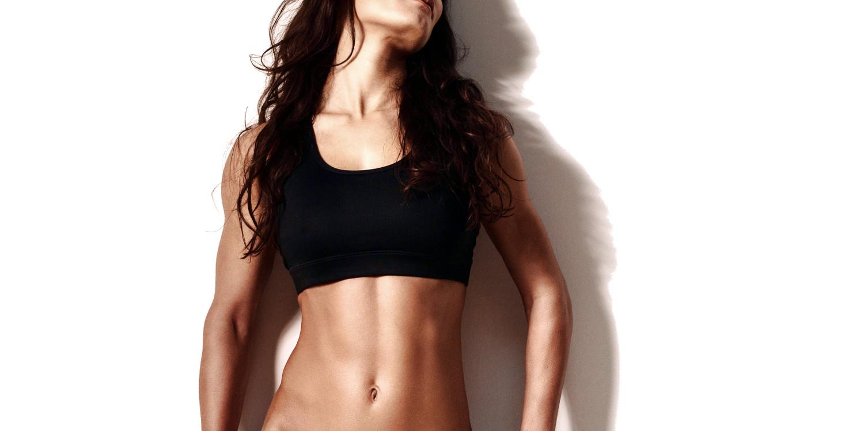 Flat abs women