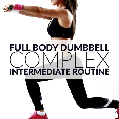 Full Body Dumbbell Complex For Women / @spotebi