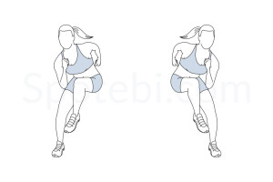 Heisman exercise guide with instructions, demonstration, calories burned and muscles worked. Learn proper form, discover all health benefits and choose a workout. https://www.spotebi.com/exercise-guide/heisman/