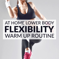 Lower Body Dynamic Warm Up Exercises / @spotebi