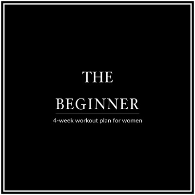 Our 4 Week Beginner Workout Plan For Women