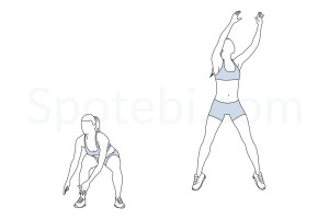 Basketball shots exercise guide with instructions, demonstration, calories burned and muscles worked. Learn proper form, discover all health benefits and choose a workout. https://www.spotebi.com/exercise-guide/basketball-shots/