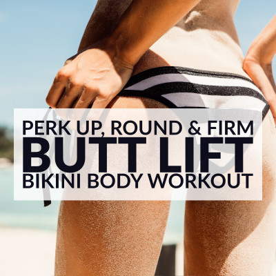 Butt Lift Bikini Body Workout / @spotebi