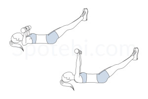 Chest press legs extended exercise guide with instructions, demonstration, calories burned and muscles worked. Learn proper form, discover all health benefits and choose a workout. https://www.spotebi.com/exercise-guide/chest-press-legs-extended/