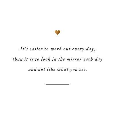 Love your reflection! Browse our collection of inspirational exercise quotes and get instant weight loss and training motivation. Transform positive thoughts into positive actions and get fit, healthy and happy! https://www.spotebi.com/workout-motivation/love-your-reflection-weight-loss-motivation-quote/