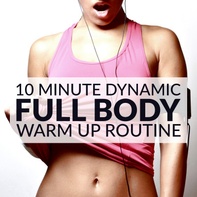10 Minute Dynamic Full Body Warm Up Routine / @spotebi
