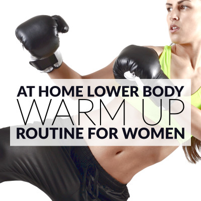 At Home Lower Body Warm Up Routine / @spotebi