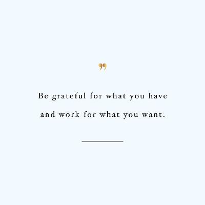 Be Grateful Health And Fitness Motivation / @spotebi