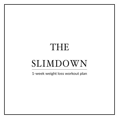 Get ready for a special event, a beach vacation or simply break through a weight loss plateau with the Bikini Body SlimDown Week. A 6 Day Workout Plan to instantly build your confidence, boost your weight loss and get you back on track! This program includes 6 high intensity workouts that sculpt and tone your whole body and help you slim down and look your best. https://www.spotebi.com/workout-plans/bikini-body-slim-down-week/