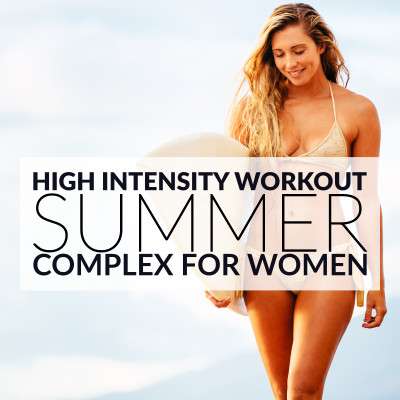 At Home Summer Body Complex For Women / @spotebi