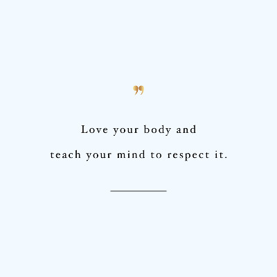 Teach Your Mind Health And Fitness Quote / @spotebi