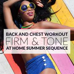 Chest And Back Bikini Body Workout For Women / @spotebi