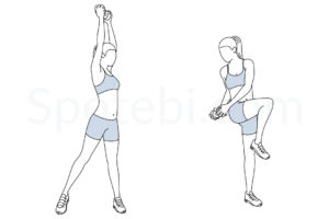 Balance chop exercise guide with instructions, demonstration, calories burned and muscles worked. Learn proper form, discover all health benefits and choose a workout. https://www.spotebi.com/exercise-guide/balance-chop/