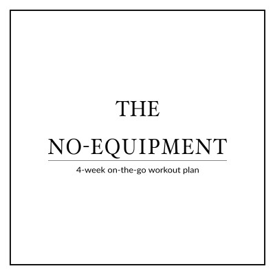 Sculpt your whole body while traveling or on vacation with our 4-week no-equipment workout plan for women. This high-intensity bodyweight plan is designed to help you maximize your metabolism, torch calories and build lean muscle on-the-go! https://www.spotebi.com/workout-plans/4-week-no-equipment-women/